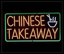 Chinese Takeaway Neon Sign