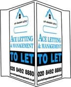 Commercial Boards Printed in 2 Colours