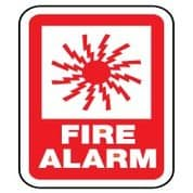 Fire Safety Sign - Fire Alarm 037