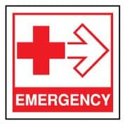 Fire Safety Sign - Fire Emergency 027