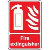 Fire safety sign - Fire Extinguisher 056