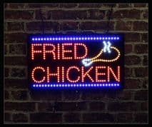 Fried Chicken LED Sign