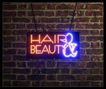 Hair & Beauty LED Sign