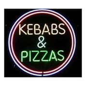 Kebabs and Pizzas Neon Sign