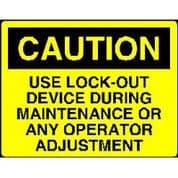 Lock011 - Use Lock-out Device