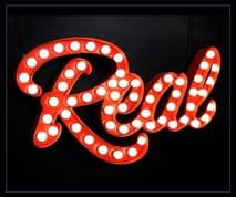 Real Bulb Sign