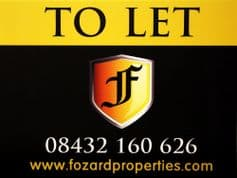 Residential Flag Boards Printed in Full Colour