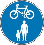 Route For Pedal Cycles And Pedestrians Only