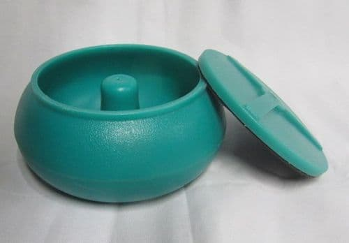 10 inch Replacement Polyethylene Vibratory Tumbler Bowl with Lid