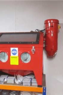 Dust Extractor Suits Bench Top Sand Blast Cabinet DC15
