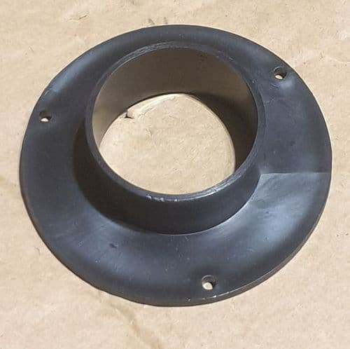 Flange fitting for Bench Top Cabinet Extractor Port #18 Black