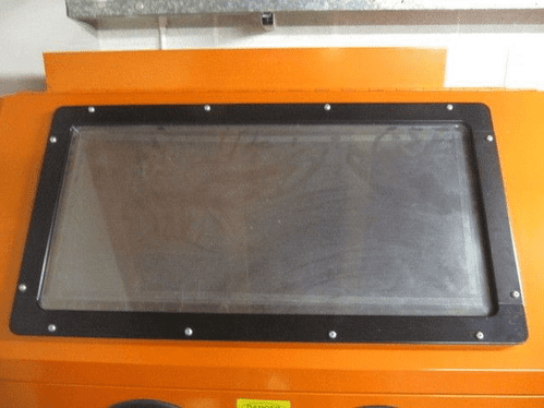 Metal Surround for SBC990 Cabinet. Surround for Sand Blast Cabinet.
