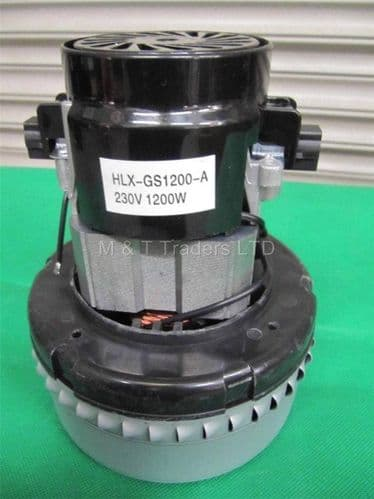 Motor for the Dust Extractor 1200 Watt Replacement HLX-GS1200-A
