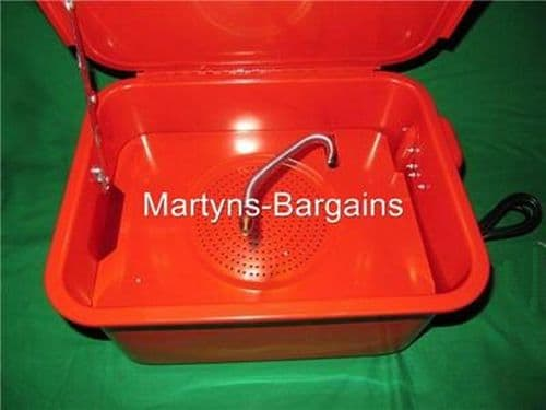 Parts Washer Mattis 3.5 Gallon Parts Washer, Ideal Small Bench parts washer