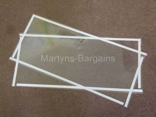 Tear off Acetate Protection Screens to Protect glass on SBC420 Sand Blast Cabinet