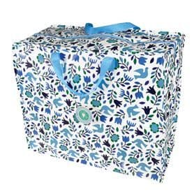 Folk Doves Jumbo Storage Bag