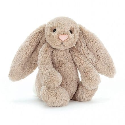 Jellycat Bashful Beige Bunny (Small)