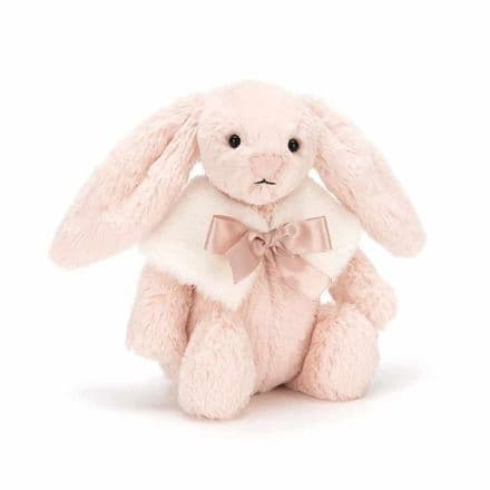 Jellycat Bashful Blush Snow Bunny (Small)