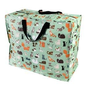 Nine Lives Cat Jumbo Storage Bag