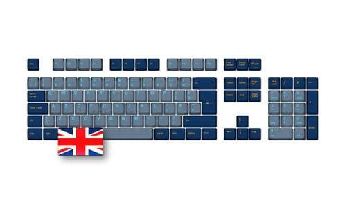 105-Key PBT Double Shot Tai-Hao keycaps set UK