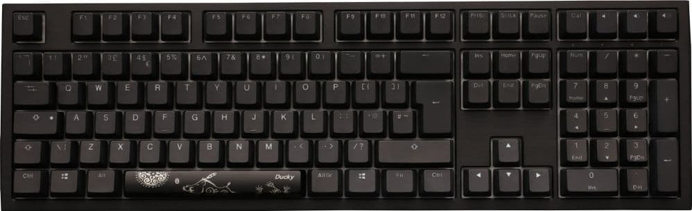 Ducky Channel Shine 7 BlackOut DKSH1808ST-PUKPDAAT2