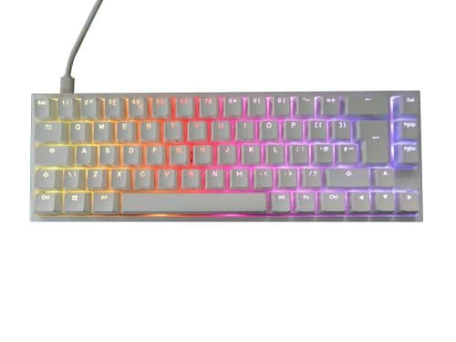 Ducky One2 SF Pure White 65% RGB Backlit S/Red MX Switch