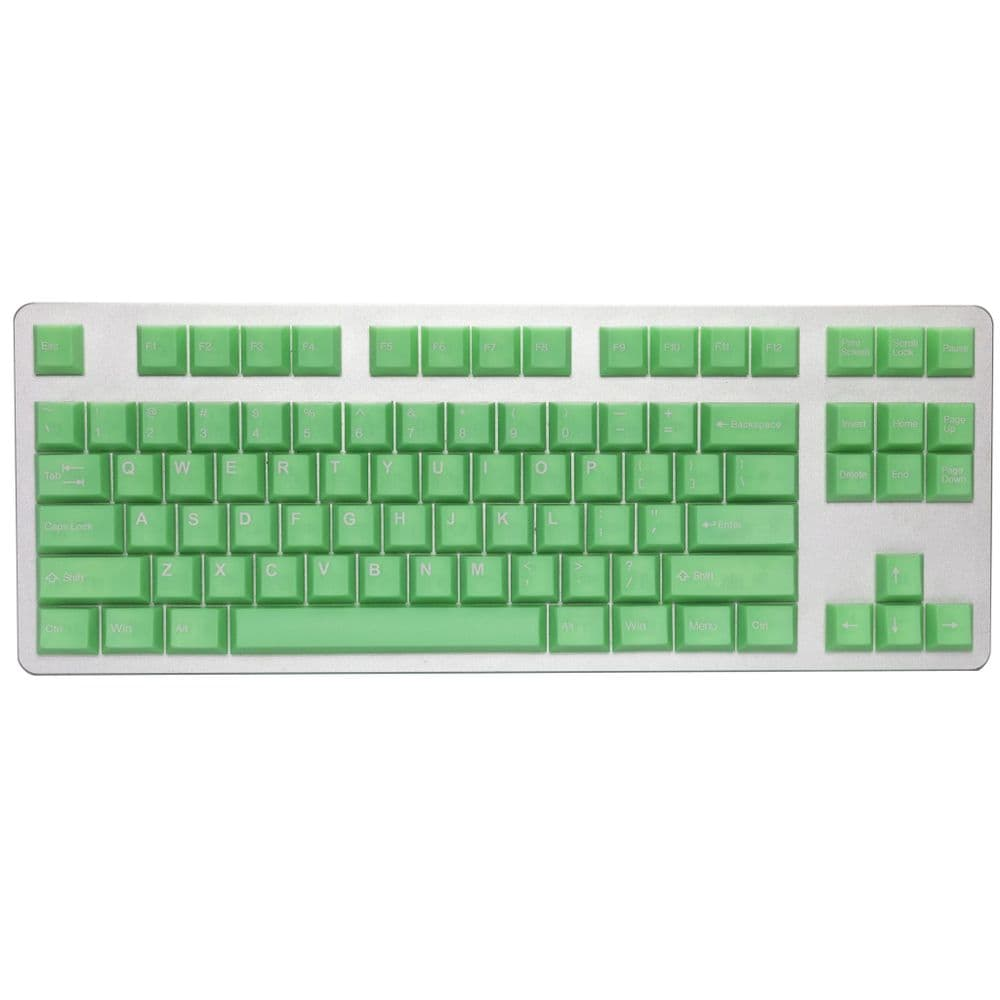 Tai-Hao Translucent Cubic ABS Slime Sprout 152 Keycap Set