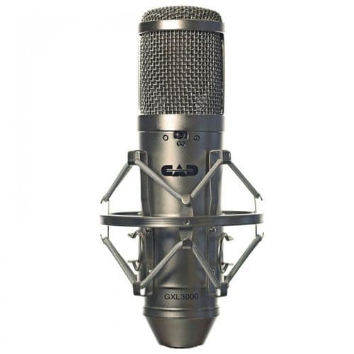 CAD Audio - CAD GXL 3000 MICROPHONE STUDIO PACK - SATIN - GXL3000
