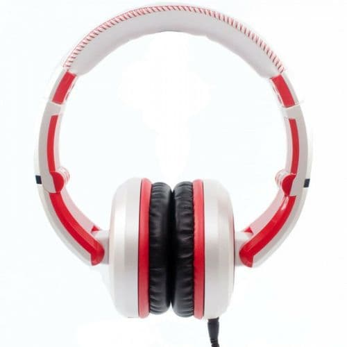 CAD SESSIONS 510 STUDIO HEADPHONES ~ WHITE/RED - MH510W