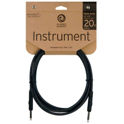 D'Addario / Planet Waves PW-CGT-20 Classic Series Instrument Cable 20ft