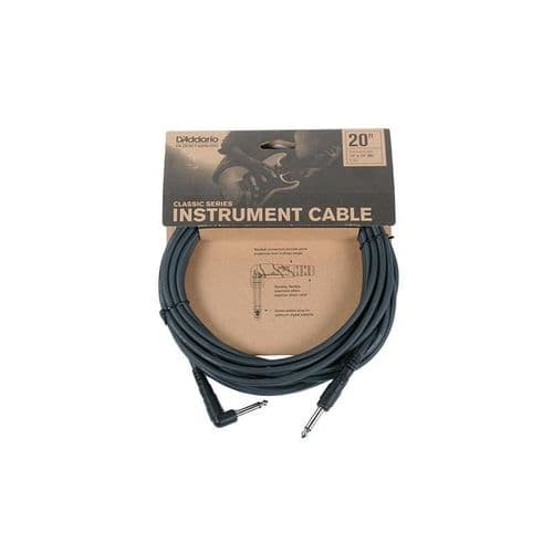 D'Addario / Planet Waves PW-CGTRA-20 Classic Series Instrument Cable RA 20ft