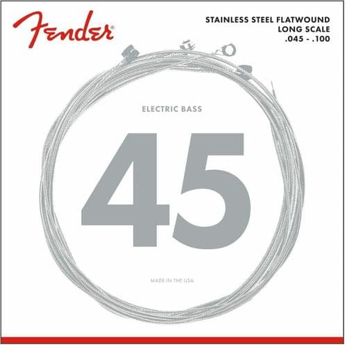 Fender Electric Bass Guitar Strings Flatwound  9050L (045/100) - 073-9050-403