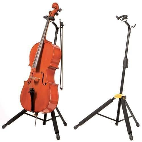 Hercules DS580B Cello stand - Auto Grip - New Boxed