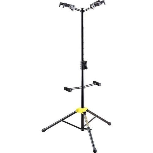 Hercules GS422B auto grab double guitar stand - New