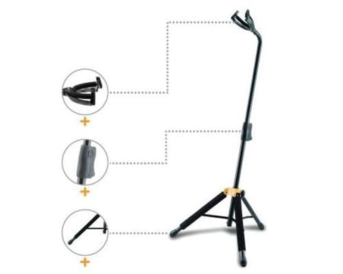 Hercules GS455B Universal Guitar stand - all styles, Acoustic, Classical etc