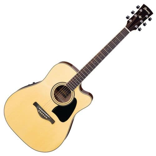 Ibanez AW70ECE-NT Artwood Electro Acoustic Guitar, Solid Top - Natural