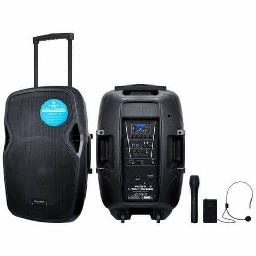 KAM V3 Portable PA with media player, wireless mic, Bluetooth - RZ15AP