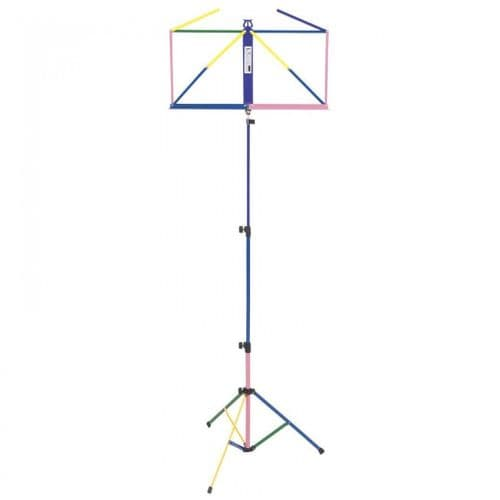 Kinsman: Multi-Coloured Music Stand inc Free bag OPS55M -Boxed