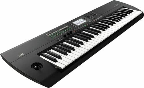 KORG i3 Music Workstation Keyboard - 61 Key - Matte Black - I3-MB