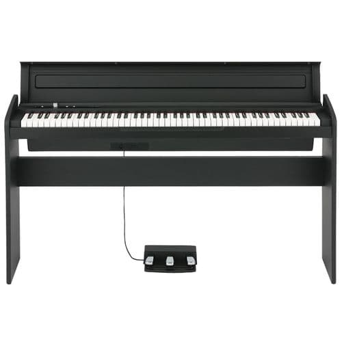 Korg LP-180BK Digital Piano including Stand, Speakers & Pedals BLACK - New Boxed