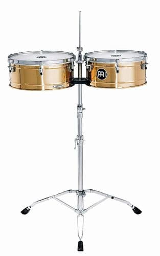 Meinl 14 / 15 inch Professional Series Timbales - Germany B8 Bronze - BT1415