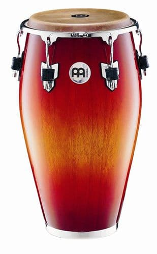 Meinl Percussion - 12 1/2 inch Professional Wood Conga - Red Fade - MP1212ARF