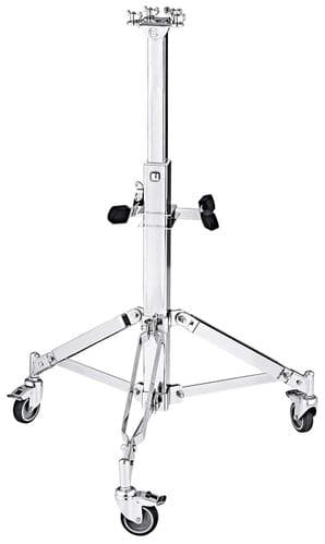 Meinl Percussion - PROFESSIONAL CONGA DOUBLE STAND WITH WHEELS - TMPDS