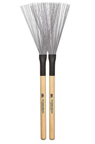 Meinl Percussion Stick & Brush - 7A FIXED WIRE BRUSH - SB302 - Best seller