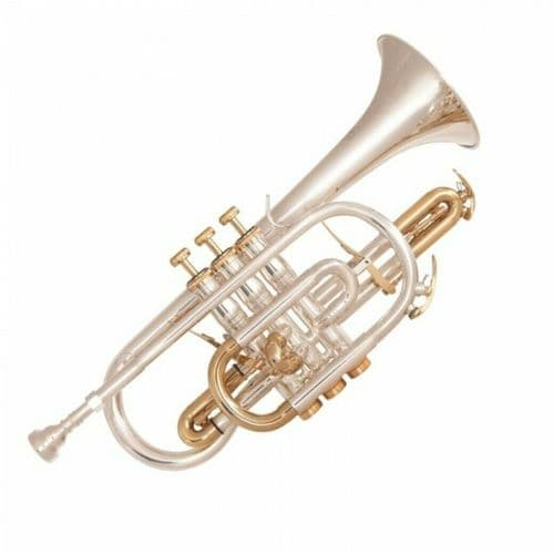 ODYSSEY SYMPHONIQUE 'BB' CORNET OUTFIT ~ SILVER PLATED - OCR1000SG