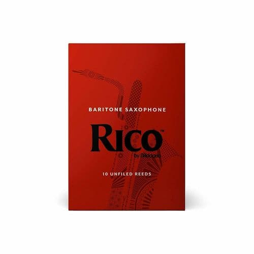 Rico 2.0 Strength Reeds for Baritone Sax (Pack of 10) - RLA1020