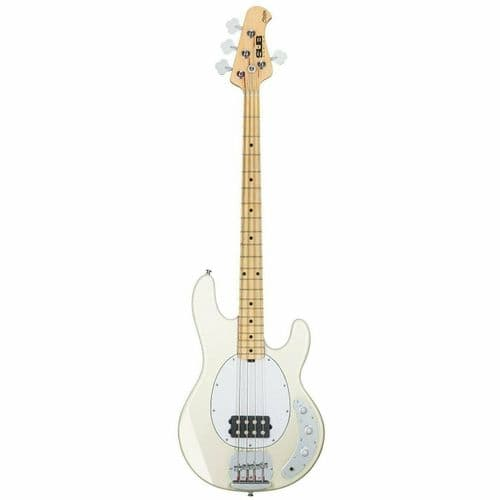 Sterling by Music Man SUB RAY 4 Active Bass Guitar MN - Vintage Cream - RAY4-VCM