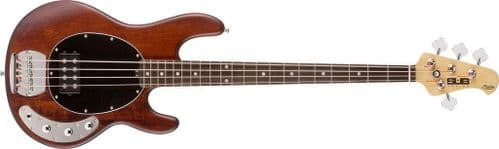 Sterling by Music Man SUB Ray4 Walnut Satin Bass guitar - Ray4 WS