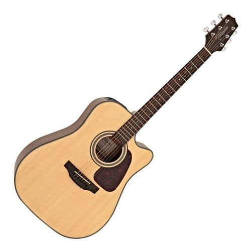 Takamine GD10CE-NS Dreadnought Electro Acoustic Guitar, Natural - TK-GD10CE-NS