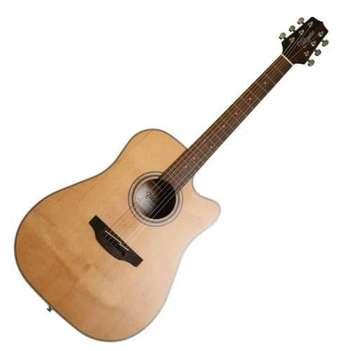 Takamine GD20CE-NS Electro Acoustic Guitar, Natural - TK-GD20CE-NS